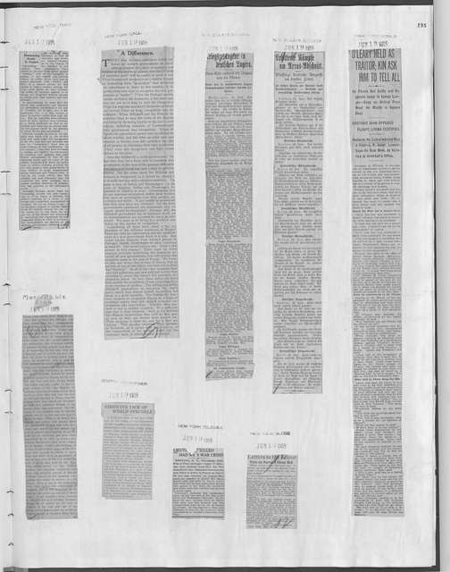 World War history : daily records and comments as appeared in American and foreign newspapers, 1914-1926 (New York), June 17, 1918, (1918 June 17-20)