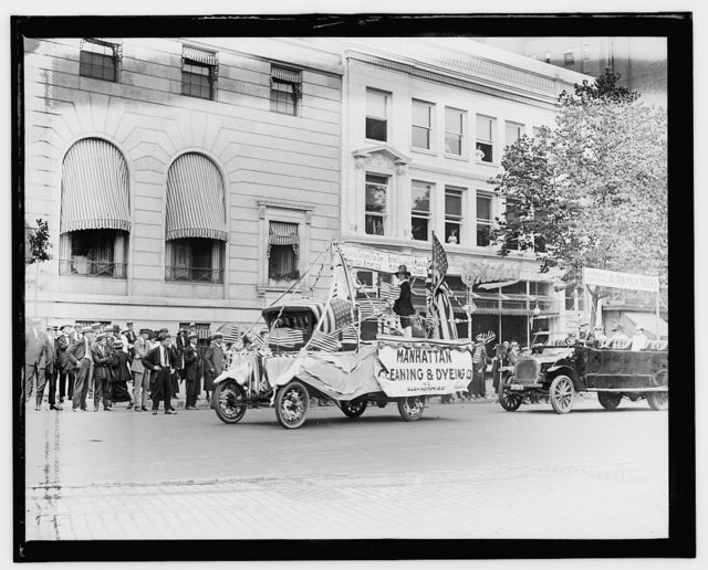 Auto Trade Assoc. parade, Wash. D.C., June 28, 1919