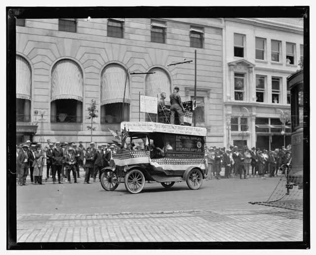 Auto Trade Assoc. parade, Wash. D.C., June 28, 1919