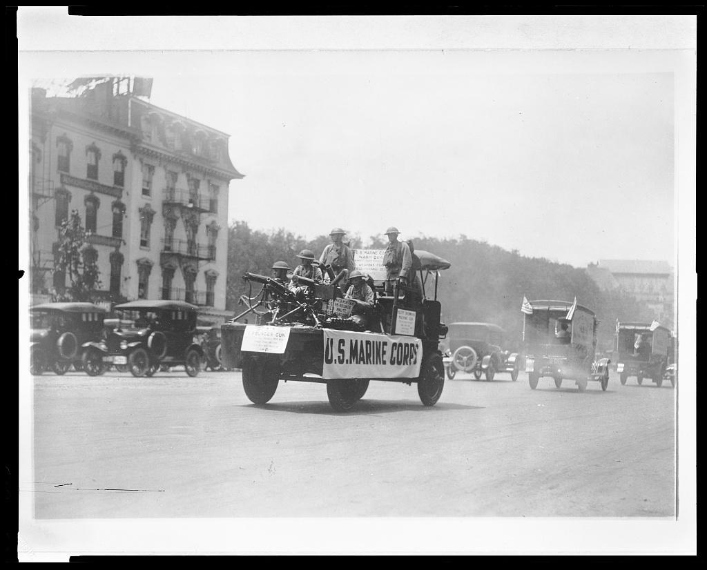 Automotive Trade Assn. parade, Wash. D.C.