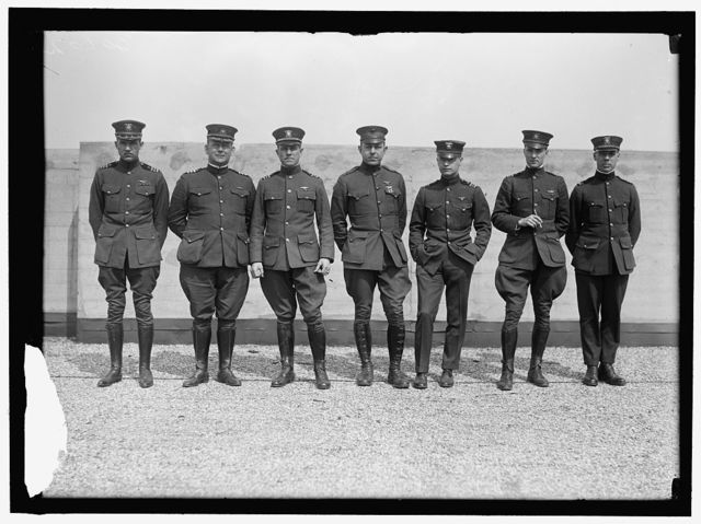 AVIATION, NAVY. COMDR. JOHN R. TOWERS; COMDR. HOLDEN C. RICHARDSON; LT. COMDR. PATRICK NIESEN LYNCH BELLINGER; MAJ. BERNARD L. SMITH; LT. COMDR. GODFREY deCHEVALIER; LT. COMDR. RICHARD E. BYRD; UNIDENTIFIED