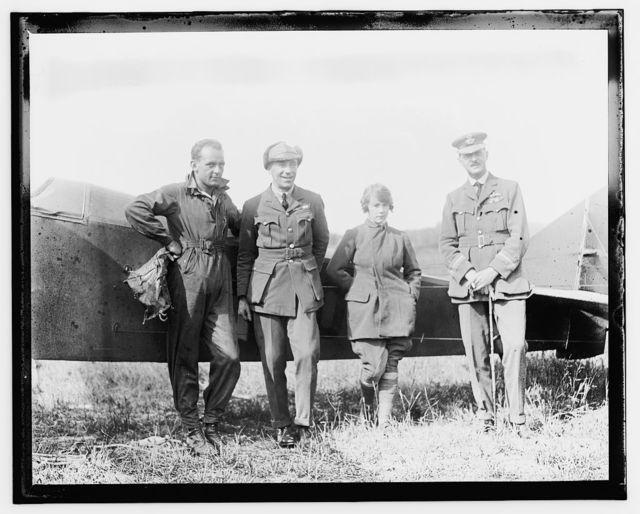 Aviators, College Park, Md. July 1, 1919, Parachute experiments