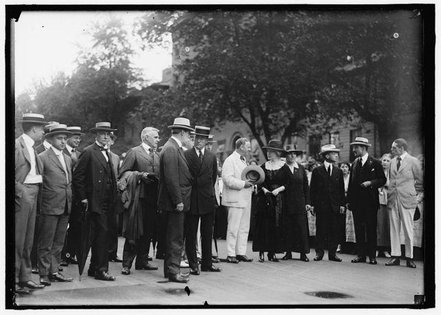 BAKER, NEWTON DIEHL. SECRETARY OF WAR, 1916-1921. WAR RISK GROUP