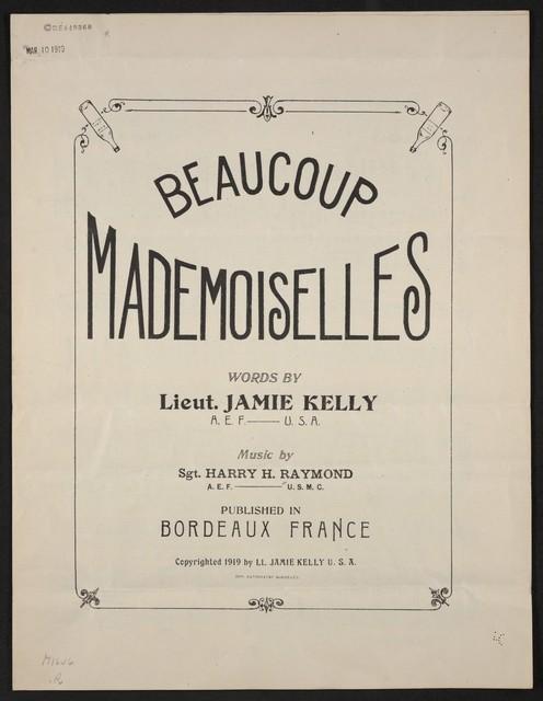 Beaucoup mademoiselles