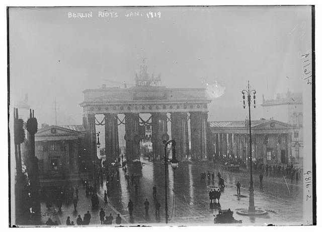 Berlin riots, Jan. 1919