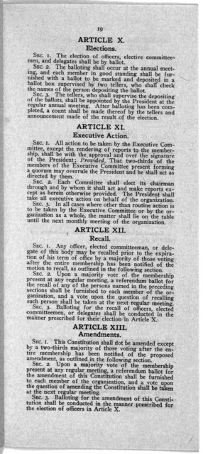 ... Bulletin March 23, 1916 to all government employees, members and prospective members ... [Washington, 1919].