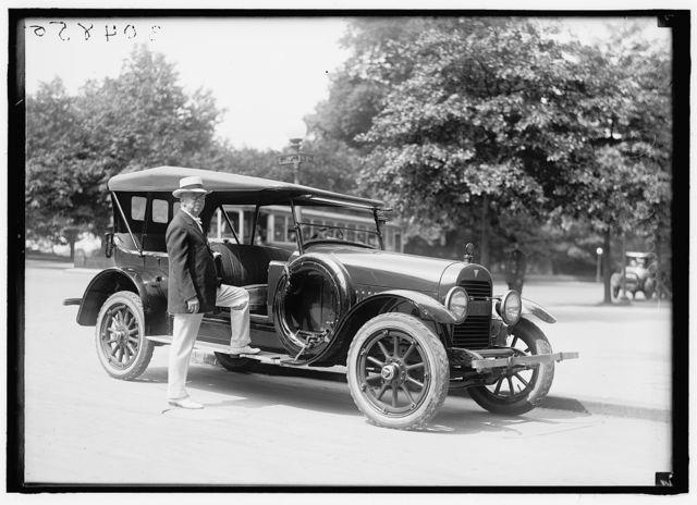 CHAMBERLAIN, GEORGE EARLE. SENATOR FROM OREGON, 1909-1921; MEMBER, U.S. SHIPPING BOARD, 1921-1923