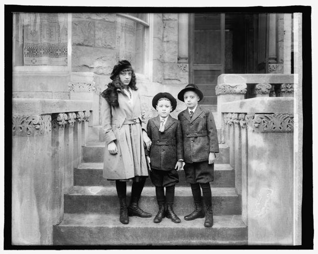 Children of Minister Chas. Moravia, Haitri Adeline, Louis, Rene