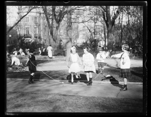 [Children playing]