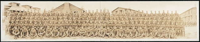 """Co. """"D"""", 3rd Army composite reg., (Pershing's own), Capt. E. G. Herlihy, Com'd'g."""