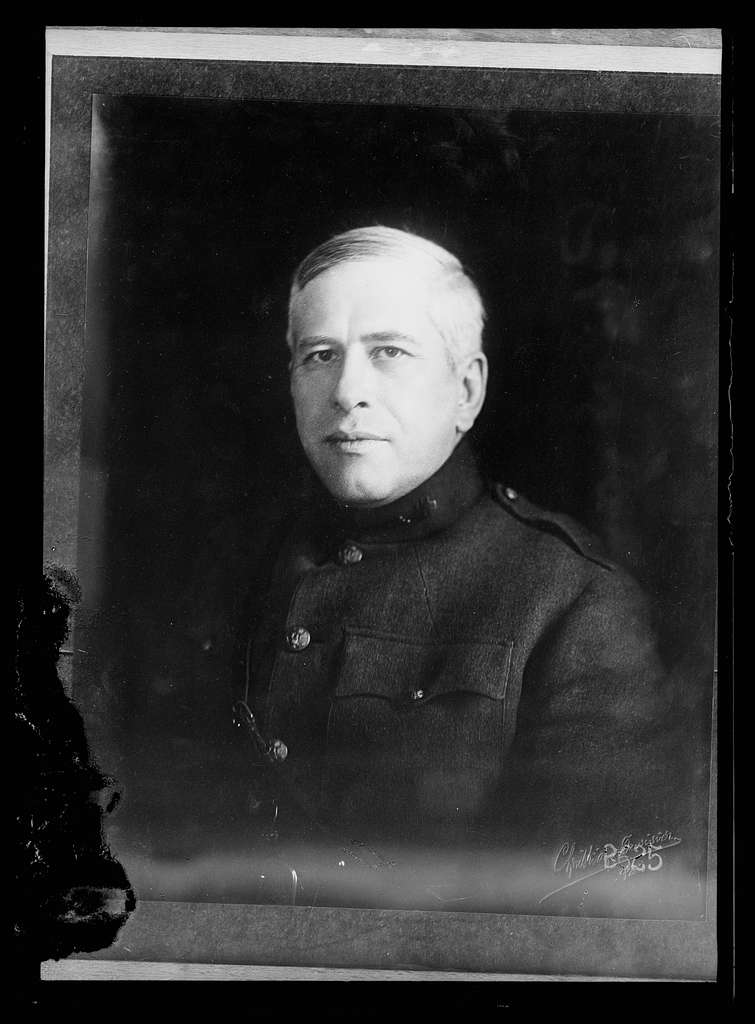 Colonel George H. Burr, Commissioner to France, American Red Cross