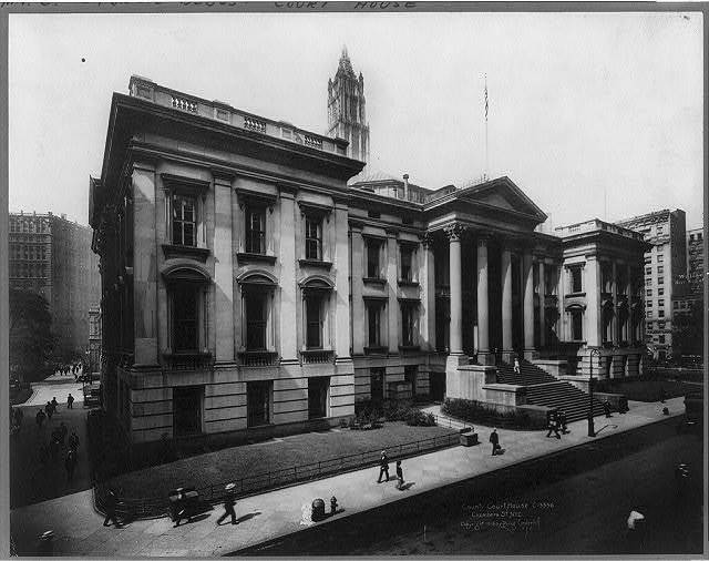 County Court House, Chambers St., New York City
