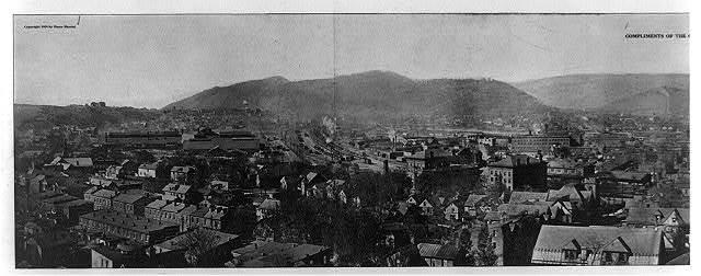 [Cumberland, Md., panorama photo]