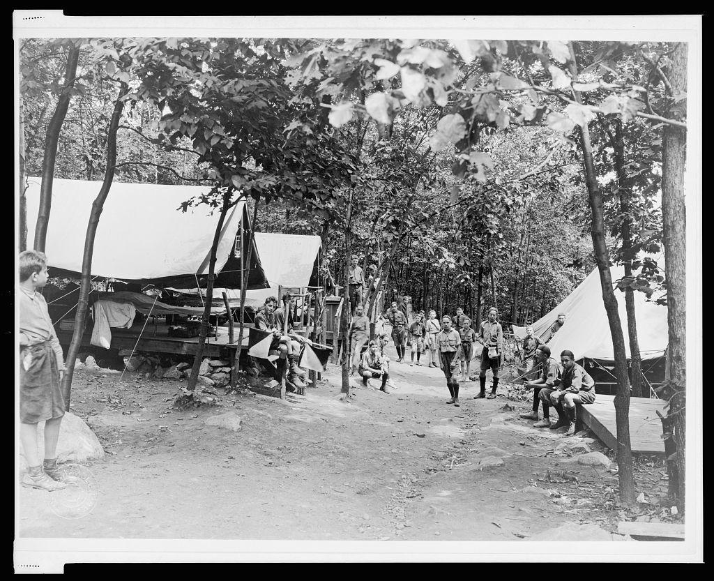 """""""Fifth Avenue,"""" Camp Ranachqua, BSA"""