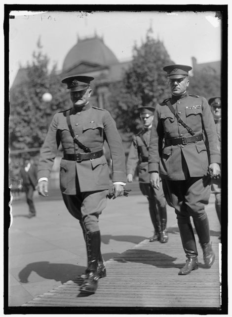 FIRST DIVISION, A.E.F. AMERICAN EXPEDITIONARY FORCES. GENERAL PERSHING
