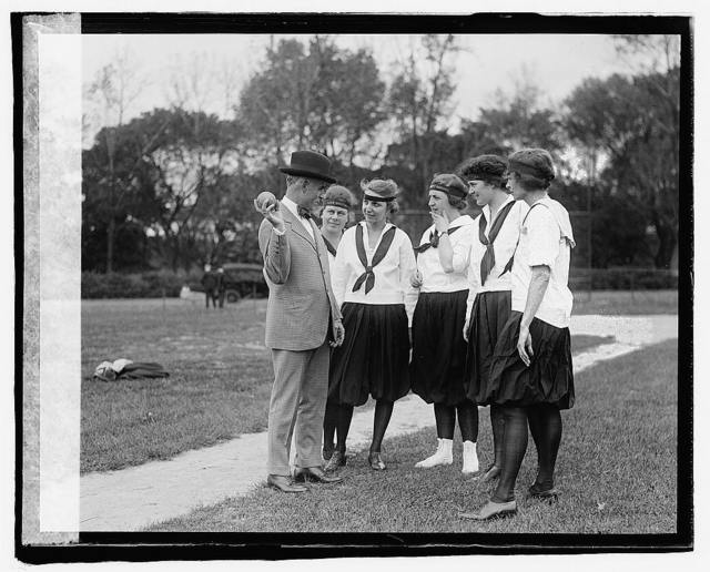 Francis Bloome, Mary Cook, Lucile Boyd, Gertrude Cherry, Ruth Jane Bauske