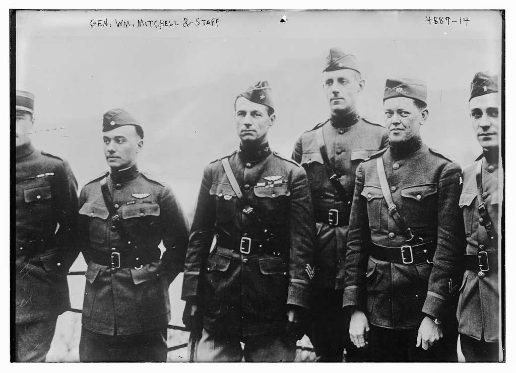 Gen. Wm. Mitchell & staff