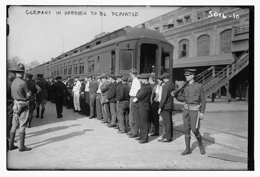 Germans in Hoboken to be deported