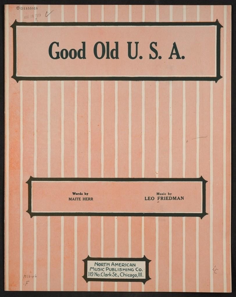 Good old U.S.A