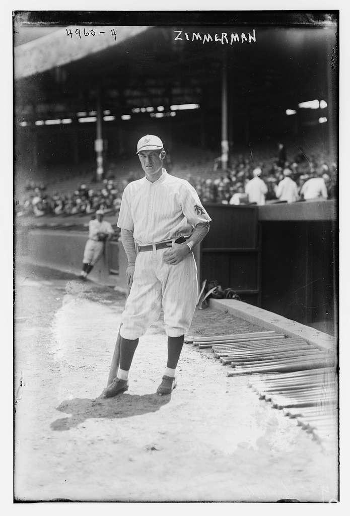 Heinie Zimmerman, New York NL (baseball)