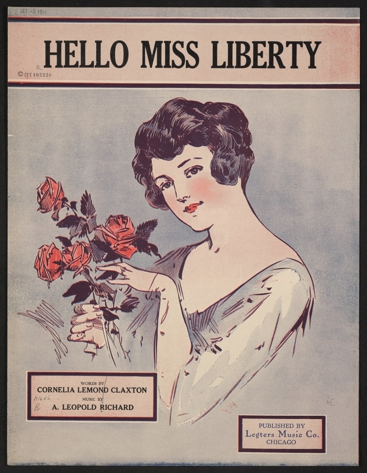 Hello miss liberty