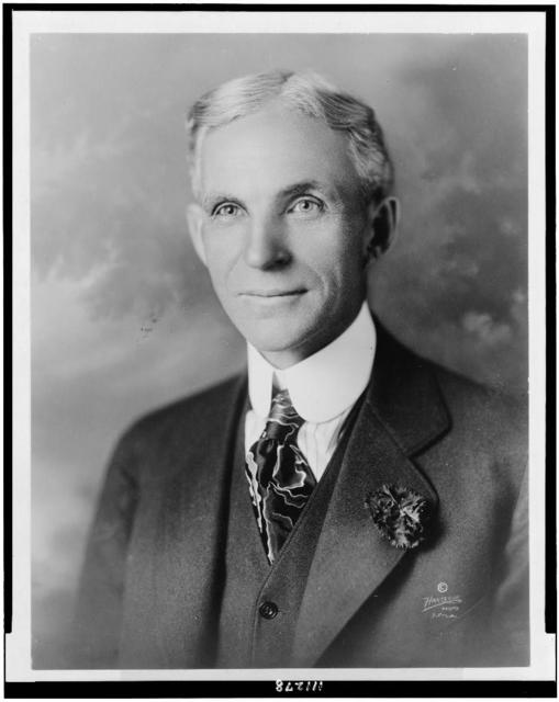 [Henry Ford, head-and-shoulders portrait, facing slightly left] / Hartsook photo.
