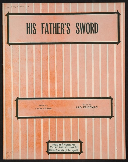 His father's sword