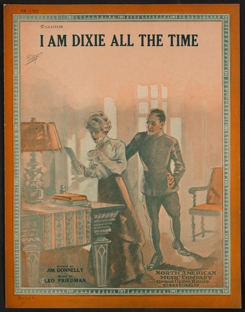 I am Dixie all the time