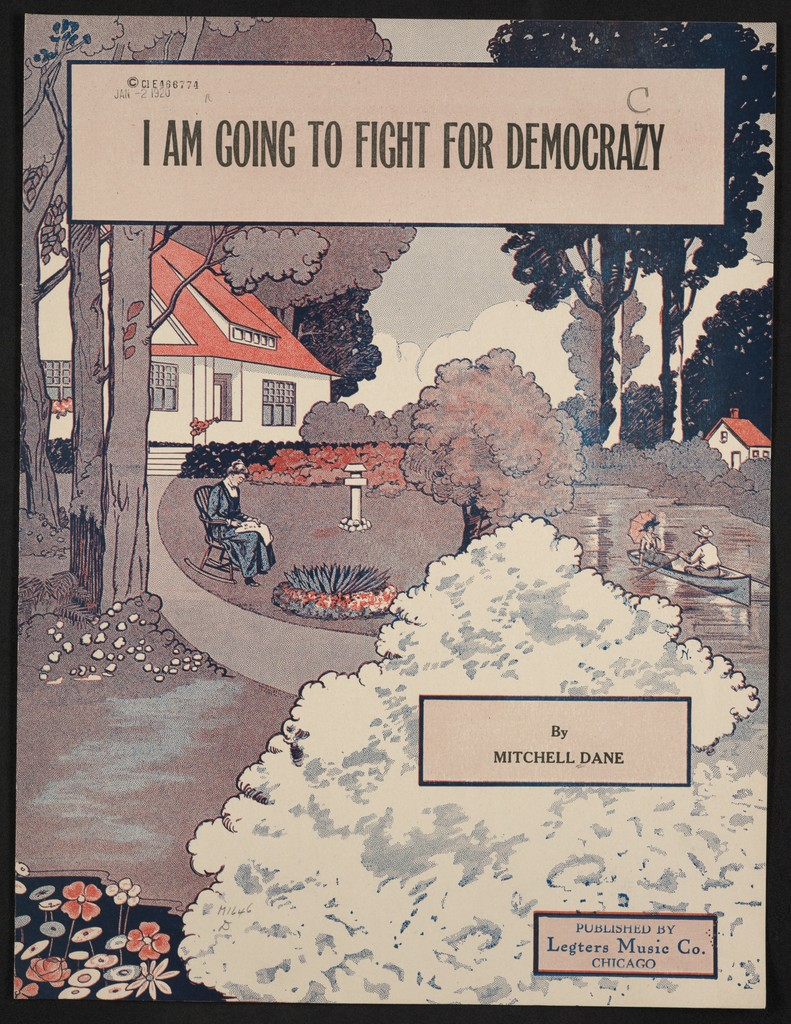 I am going to fight for democracy