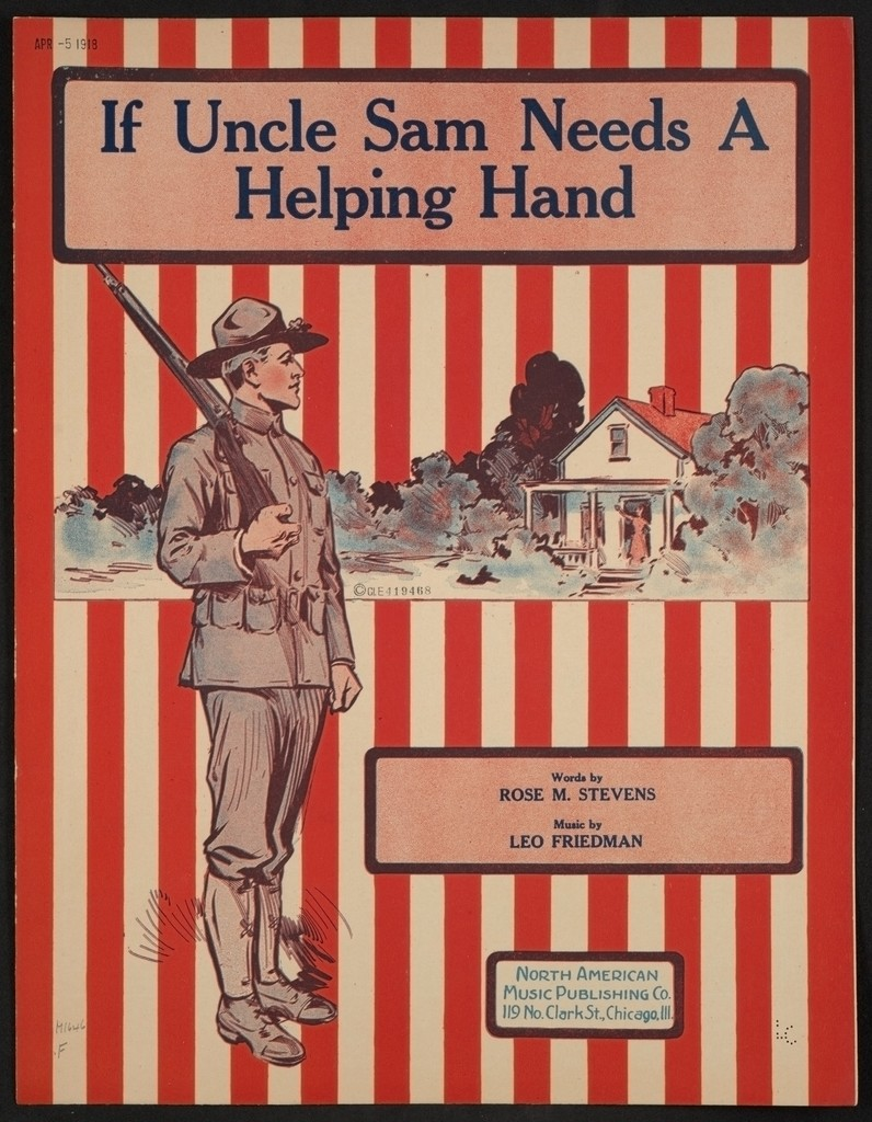 If Uncle Sam needs a helping hand