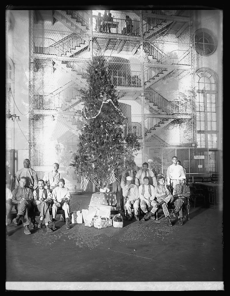 Jail Christmas tree, 1919