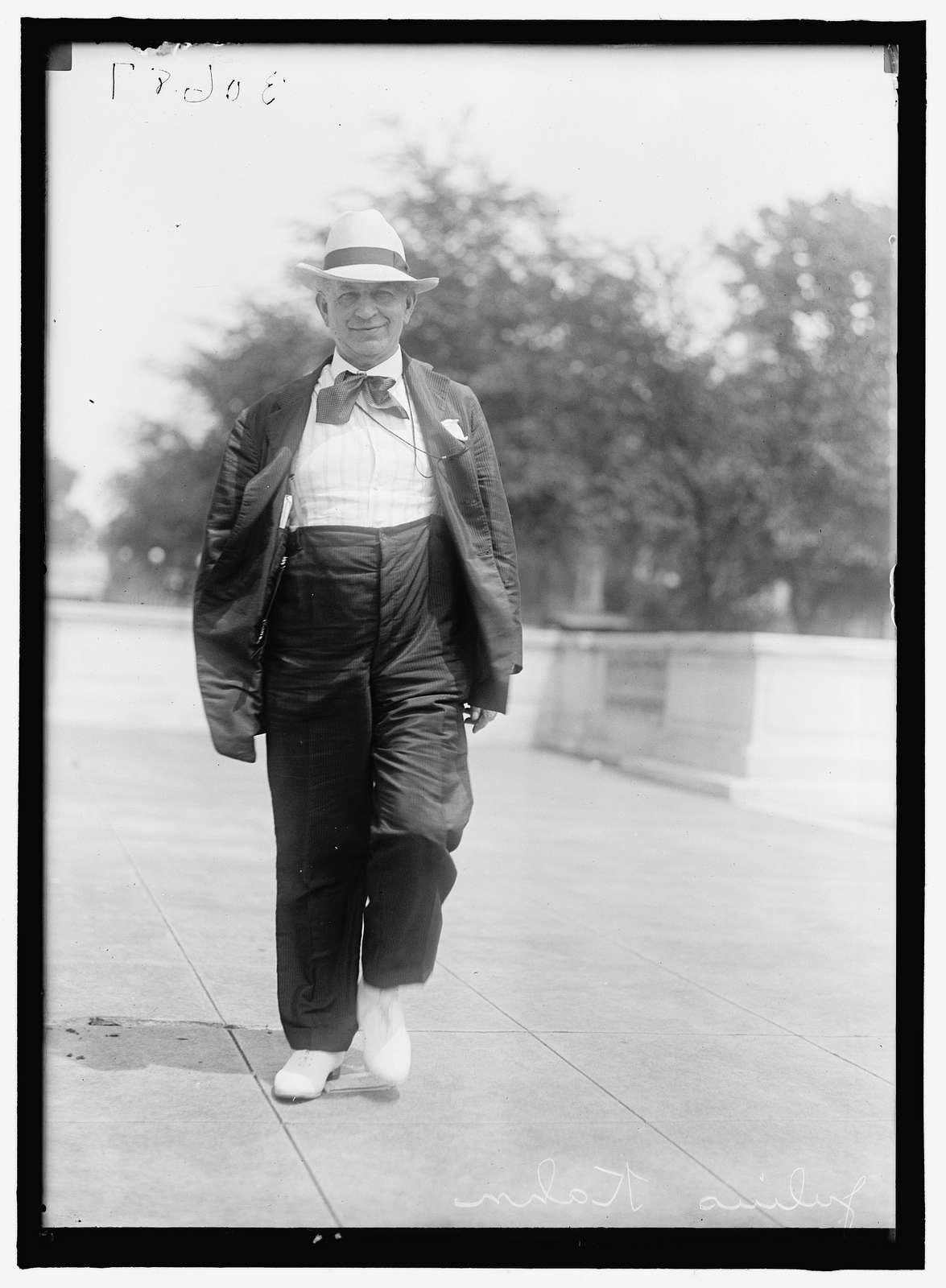 KAHN, JULIUS. REP. FROM CALIFORNIA, 1899-1903, 1905-1924