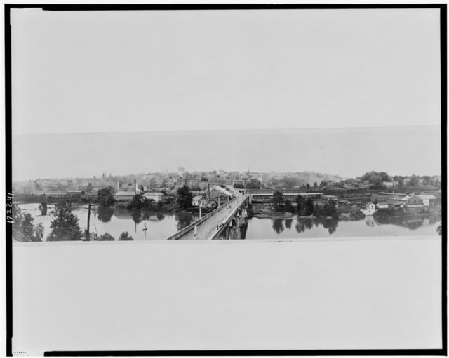 Lynchburg, Va. showing new viaduct
