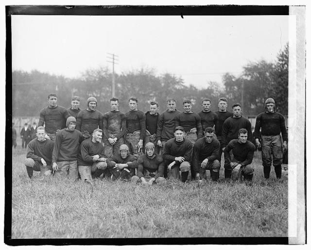 MA State football team, 1919