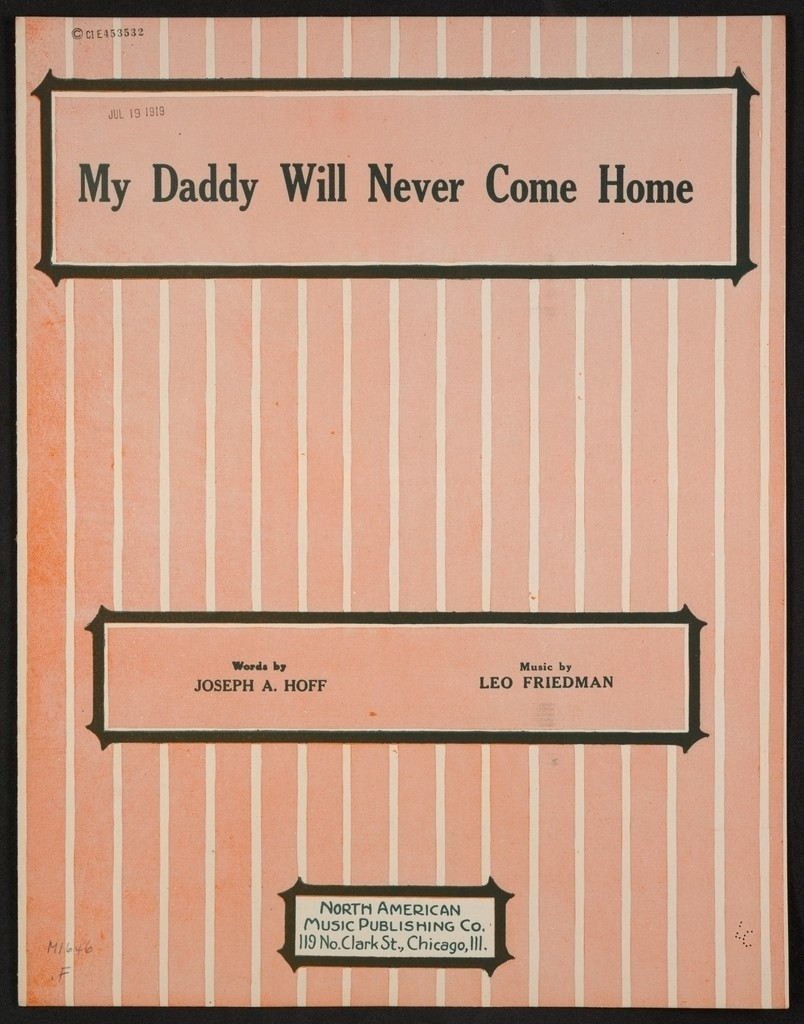 My daddy will never come home