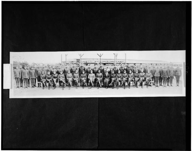 Officers & Headquarters Dep., 15th Separate Bn., U.S.M.C.