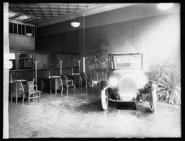 Oldsmobile Co., interior