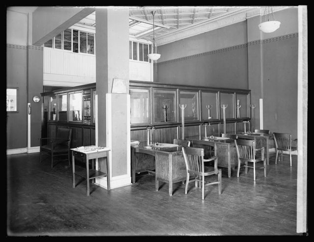 Oldsmobile Sales Co., interior