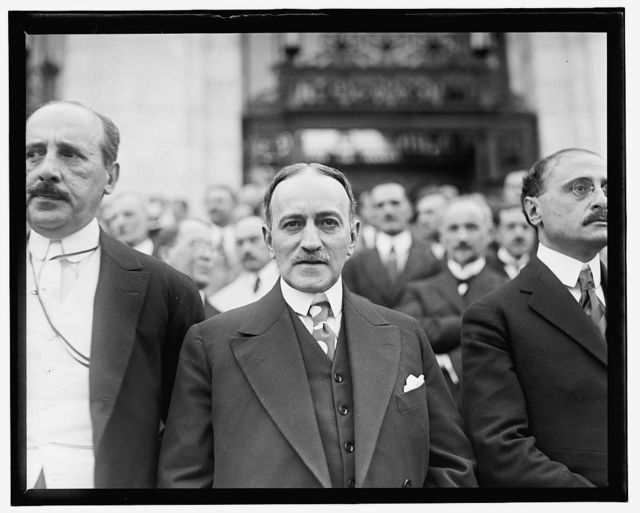Pan Amer. Union, 2nd Commercial Conference, Carlos Manuel de Cespedes, Minister of Cuba, June 1919