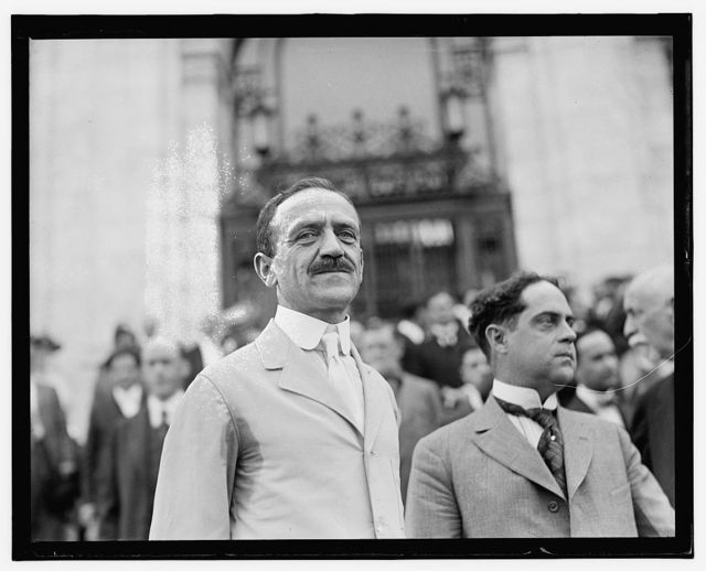 Pan Amer. Union, 2nd Commercial Conference, Dr. Leo S. Rowe, Wash. D.C., June 2-6, 1919