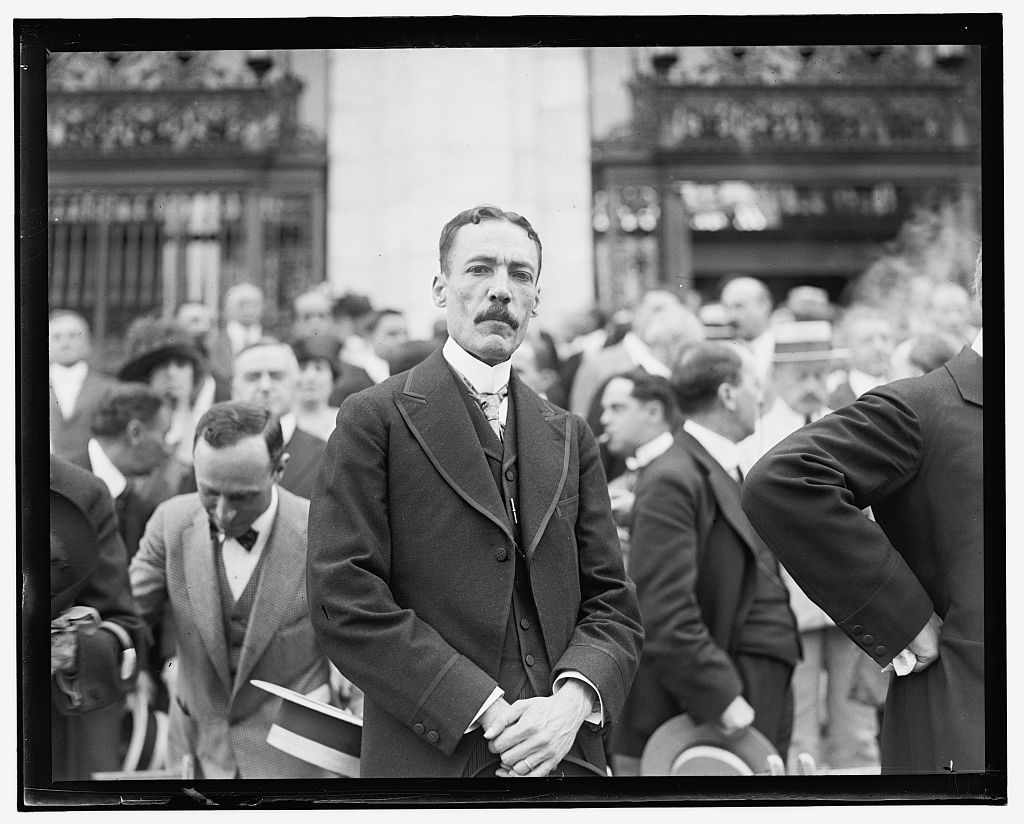Pan American Union, 2nd Commercial Conference, June 2-6, 1919, Charles Morevia, Minister of Haiti
