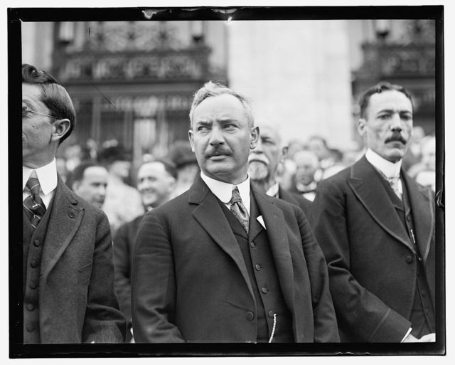 Pan American Union, 2nd Commercial Conference, June 2-6, 1919, Salvador Sol. M., Minister of Salvador