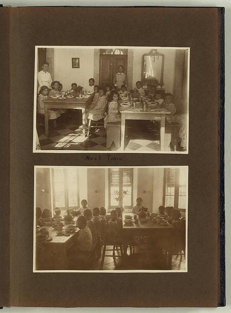 Photograph album, Christian Herald Orphanage