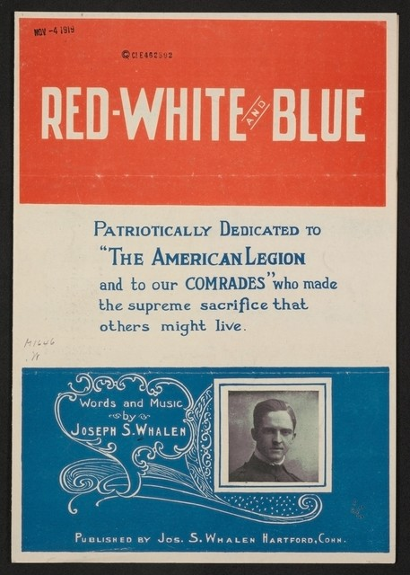 Red-white and blue