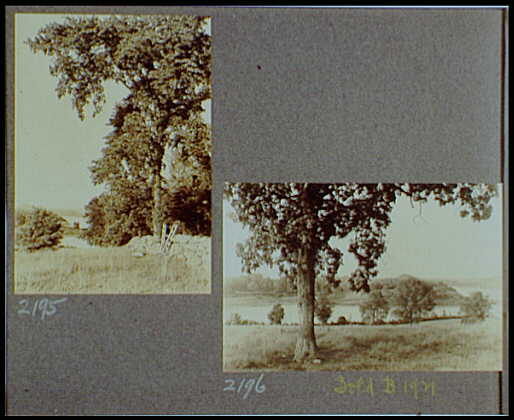 Reference prints, 1919-1920, numbers 2133-2377. Views of landscape with river or lake