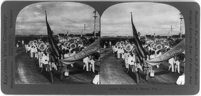Rizal Day in Manila, Phil. I.
