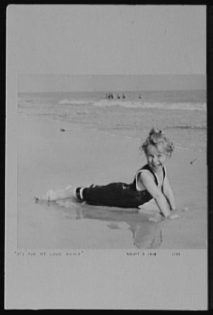 Seventy-one years, or, My life with photography. It's fun at Long Beach, Aug. 9, 1919