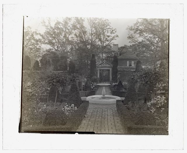 "[""The Causeway,"" James Parmelee house, 3100 Macomb Street, Washington, D.C. Fountain]"