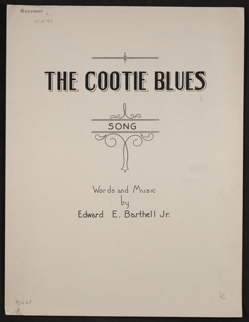 The  cootie blues
