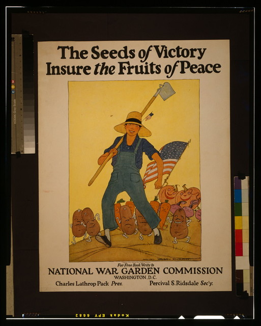 The seeds of victory insure the fruits of peace / Maginel Wright Enright.